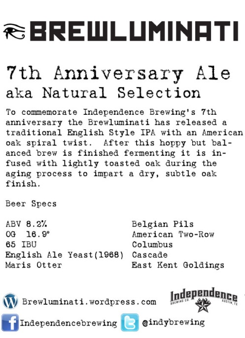 7th Anniversary Ale